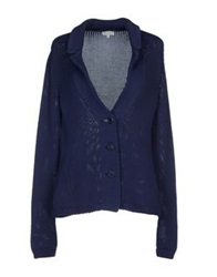 Henry Cotton's Cardigans Blue