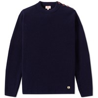 Armor Lux 74732 Heritage Crew Knit Blue