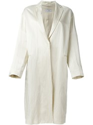 Alberto Biani Lightweight Coat Nude And Neutrals