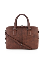 Tod's Grained Leather Briefcase