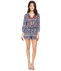 Tolani Ingrid Romper Aztec Women's Jumpsuit And Rompers One Piece Brown