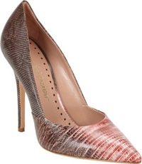 Jean Michel Cazabat Erika Tejus Pump Red