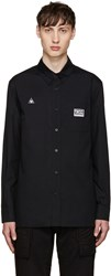 Ktz Black Patches Shirt
