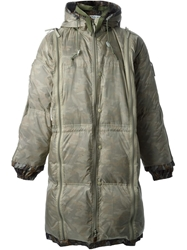 Final Home Padded Parka Green