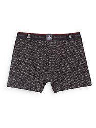 Psycho Bunny Knit Boxer Briefs Granite