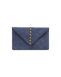 Doucal's Document Holders Slate Blue