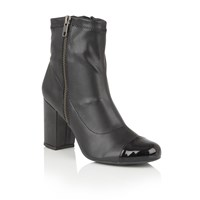 Lotus Sitka Zip Up Ankle Boots Black