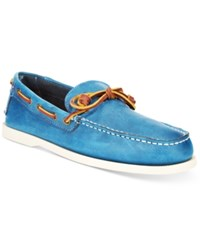 Tommy Hilfiger Men's Brisbane Boat Shoes Men's Shoes Light Blue