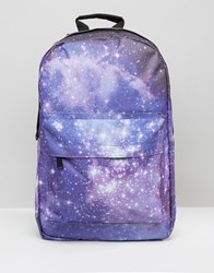 Spiral Galaxy Backpack Purple