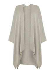 Part Two Light And Soft Poncho Grey