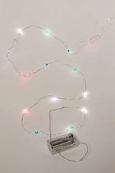 Crystal Battery Powered String Lights Urban Outfitters
