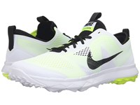 Nike Fi Bermuda White Volt Black Men's Golf Shoes