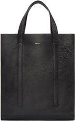 Paul Smith Black Grained Leather Tote