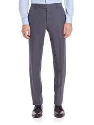 Saks Fifth Avenue Linen And Silk Dress Pants