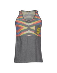 Amaranto Tank Tops Grey