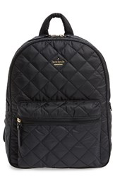 Kate Spade New York 'Ridge Street Siggy' Quilted Backpack Black
