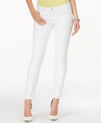 Guess Power Ripped Low Rise Video Wash Skinny Jeans