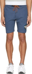 Marc By Marc Jacobs Blue And Black Electric Shorts