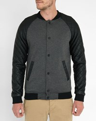 Minimum Charcoal Parley Pr Zipped Jacket Grey