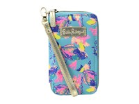 Lilly Pulitzer Tiki Palm Phone Shorely Blue Sandstorm Cell Phone Case