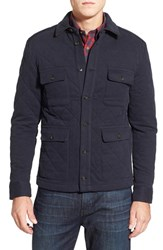 Men's Brooks Brothers Regular Fit Quilted Cotton Blend Jacket