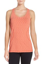 Women's Zella 'Racer' Tank Red Grenadine