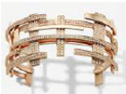 Maison Dauphin Cuff M2 Collection Ii Rose Gold