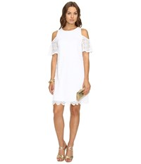 Lilly Pulitzer Somerset Dress Resort White Scalloped Shell Women's Dress