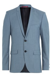 Hugo Wool Blazer With Mohair Gr. 48
