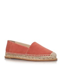 Paloma Barcelo Paloma Barcelo Umberte Suede Espadrilles Female Pink