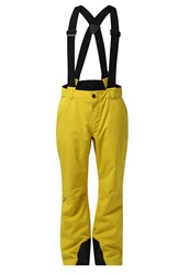 Ziener Telmo Waterproof Trousers Mustard Yellow