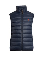 Polo Ralph Lauren Quilted Down Padded Gilet Navy