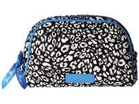 Vera Bradley Small Zip Cosmetic Camo Cat Cosmetic Case Black