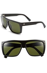 Electric Eyewear Women's Electric 'Black Top' 61Mm Flat Top Sunglasses Gloss Black Grey