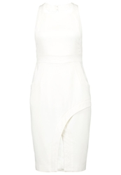 Finders Keepers Back To Town Cocktail Dress Party Dress White
