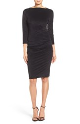 James Perse Women's Stretch Velvet Sheath Dress