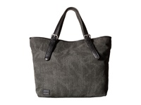 Toms Vacationer Woven Texture Mix Tote Black Tote Handbags