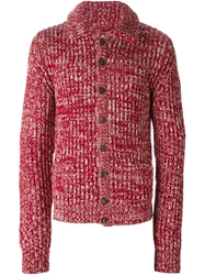 Dolce And Gabbana Knit Cardigan Red