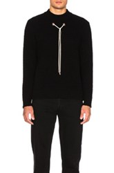 Craig Green Boucle Knit Sweater In Black