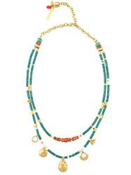 Lizzie Fortunato Jewels 'Tahitian Cowgirl' Necklace Blue