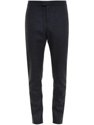 Burberry Slim Cashmere Trousers