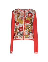 Maliparmi Knitwear Cardigans Women Red