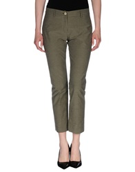 Thinple Casual Pants Military Green