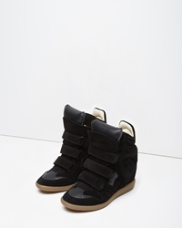 Isabel Marant Bekett High Top Sneaker Black