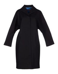 Emanuel Ungaro Full Length Jackets Black