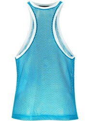 Dsquared2 Racerback Style Front Top Blue