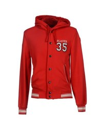 Blauer Topwear Sweatshirts Men Red