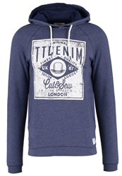Tom Tailor Denim Hoodie Cosmos Blue Dark Blue