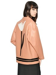Marni Double Face Nappa Leather Cocoon Jacket