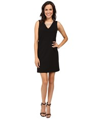 Rsvp El Paso Sheath Dress Black Women's Dress